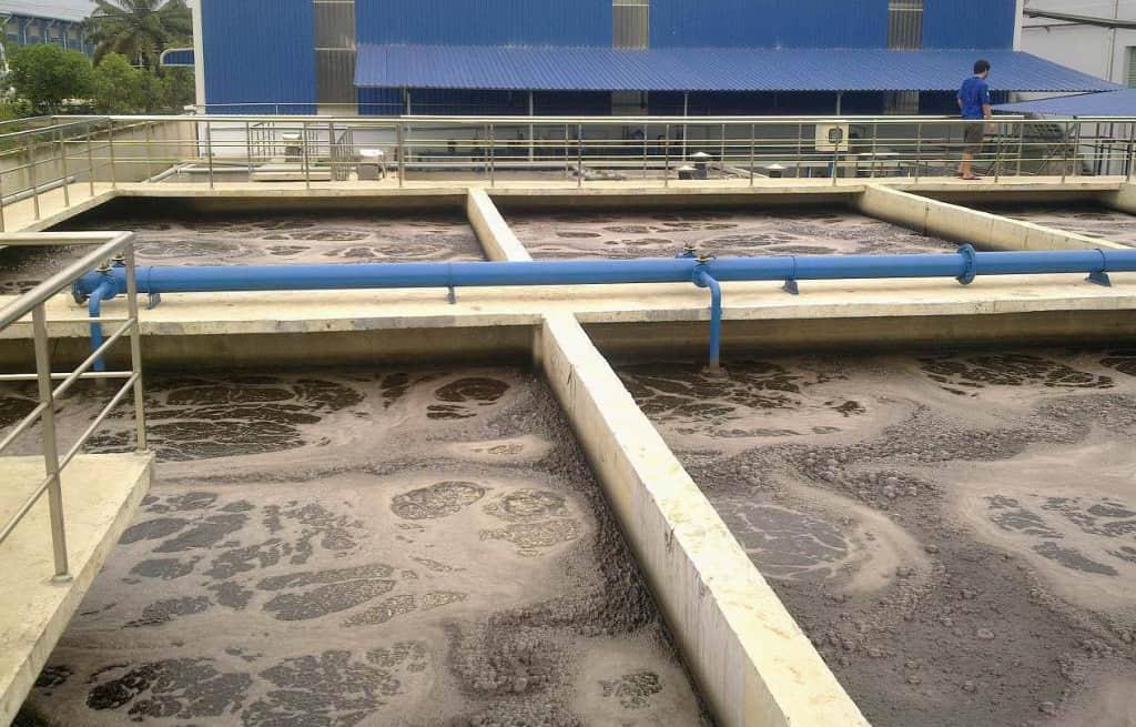 Hệ thống xử lý nước thải dệt nhuộm - Công ty Dệt Nhuộm Hưng Phát Đạt
