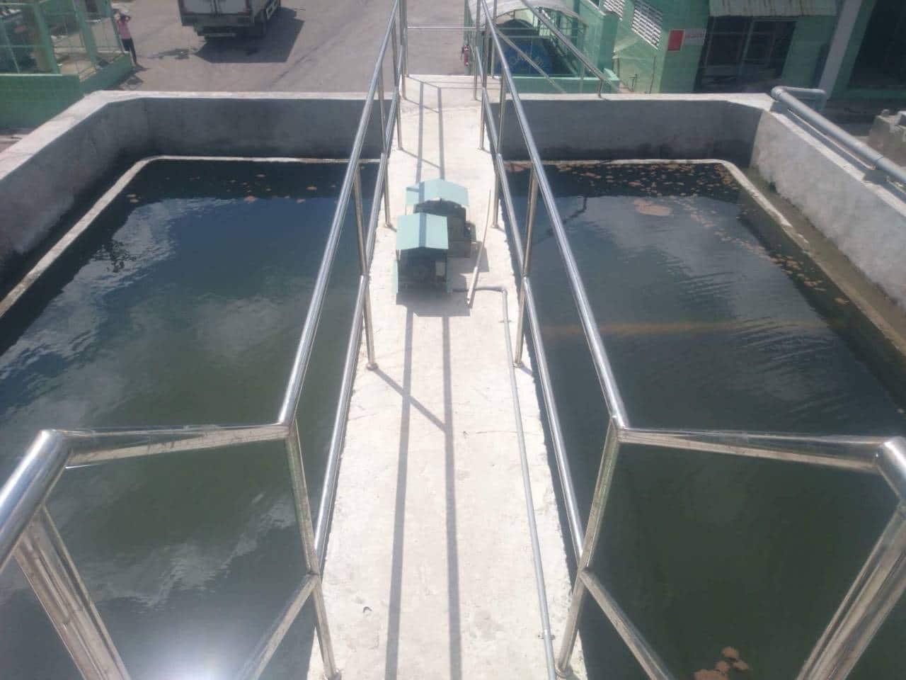 Hệ thống xử lý nước thải thủy sản-Công ty CP Thủy Sản Cửu Long